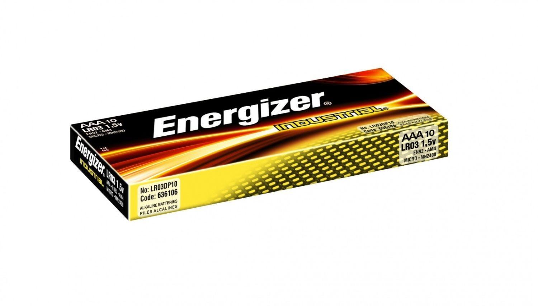 Energizer Bateria Alkaliczna Industrial AAA 10szt.