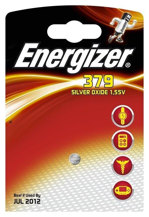 Energizer Bateria Spec. Zegarkowa 379 / SR521SW / 1szt.