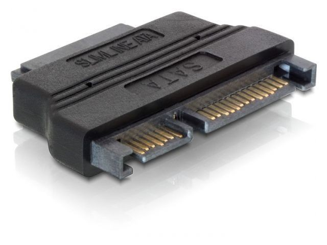 DeLOCK adapter SATA(M) 22pin -> Slim SATA(F) 13pin