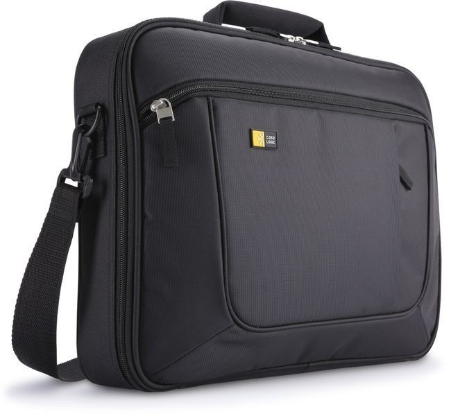 "Case Logic Laptop and iPad Briefcase Fits up to size 17.3 "", Black, Messenger - Briefcase, Shoulder strap, Polyester"