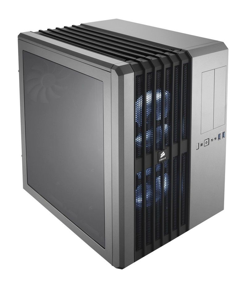 Corsair obudowa komputerowa Carbide Series Air 540 ATX Cube Case - Steel Silver
