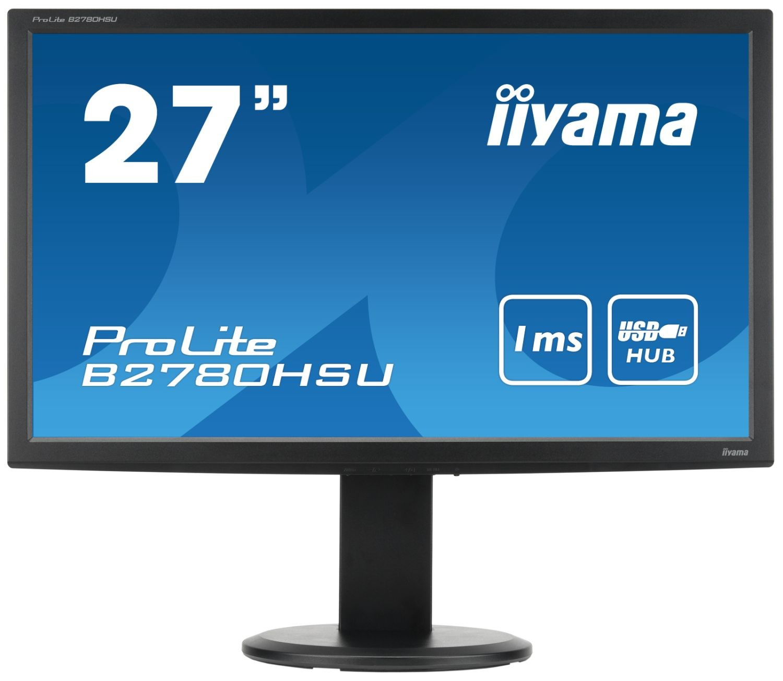 iiyama MONITOR 27'' B2780HSU DVI/HDMI/USB/głośniki /IIYAMA