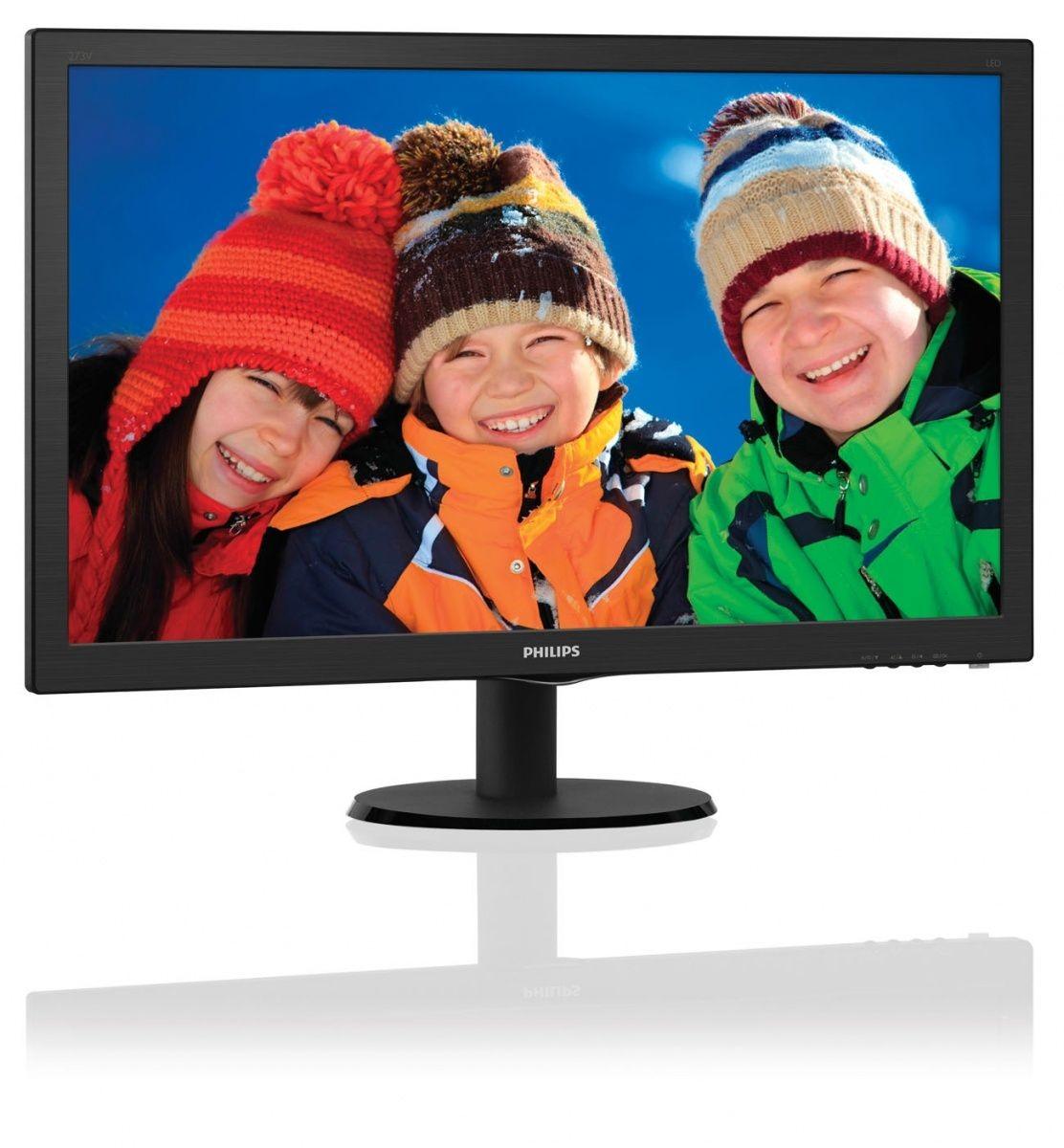 Philips 27'' 273V5LHAB LED HDMI DVI Głośniki Czarny