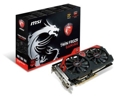 MSI KARTA PCI-E 2048MB RADEON R9 270X GAMING 256bit DDR5 2xDVI/HDMI/DP retail /MSI