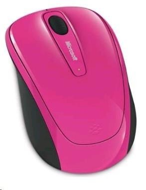 Microsoft myš L2 Wireless Mobile Mouse 3500 Mac/Win USB Hdwr Pink