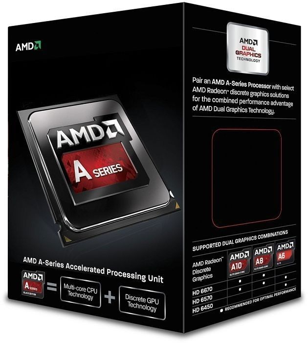 AMD procesor APU A10-6790K socket FM2, Quad-Core 4.0 GHz L2 Cache 4MB, 100W, BOX