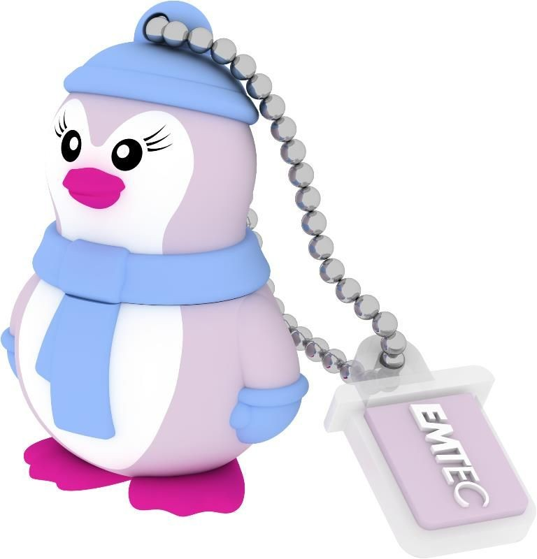 Emtec Flashdrive M336 8GB USB 2.0 Lady Penguin