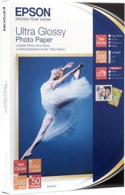 Epson Papier Ultra Glossy Photo | 300g | 10x15 | 50ark