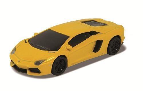 Genie Pamięć USB 2.0 8GB licencjonowany - Lamborghini Aventador żółty (blister)
