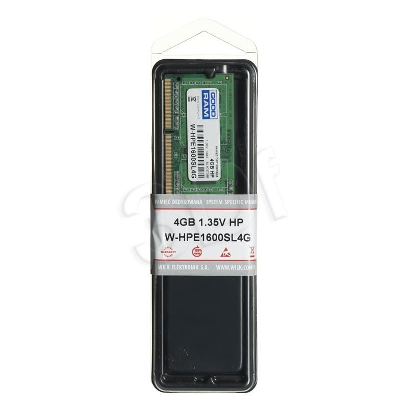 GoodRam W-HPE1600SL4G 4GB HP Notebook LV