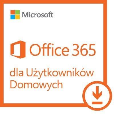 Microsoft Office 365 Home Premium, roczna subskrypcja ESD