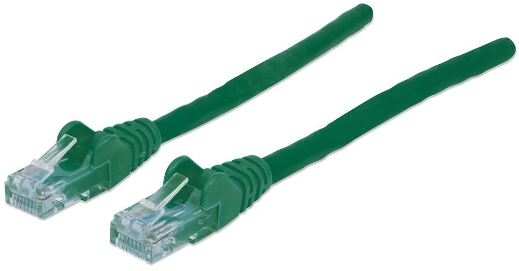 Intellinet Network Solutions Patch cord RJ45 kat6 UTP 2m zielony 100% miedź