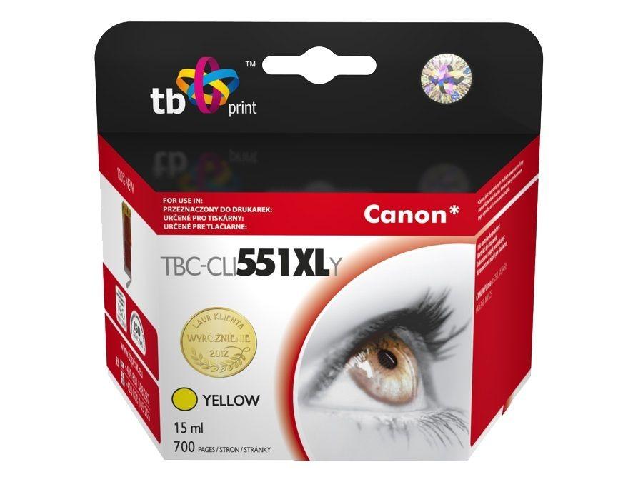 TB Print Tusz do Canon PIXMA MX 925 TBC-CLI551XLYE YE