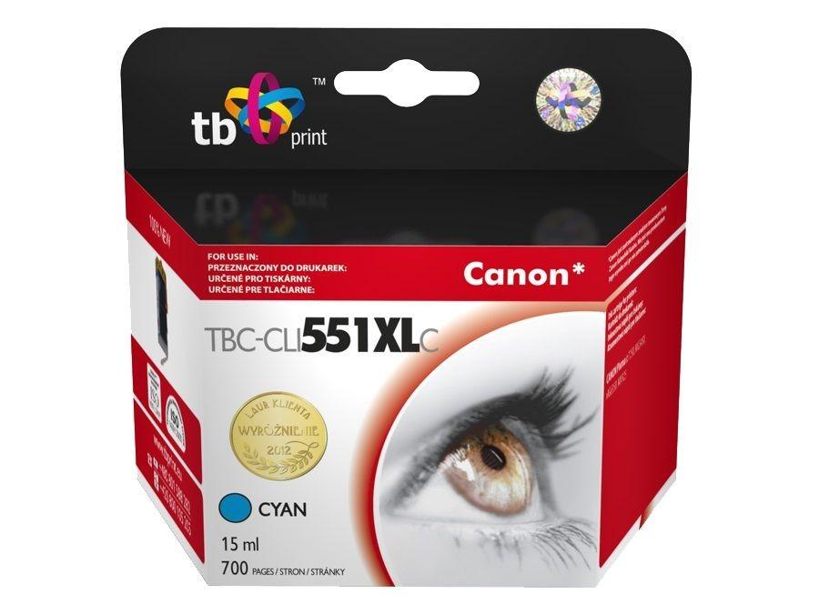 TB Print Tusz do Canon PIXMA MX 925 TBC-CLI551XLCY CY