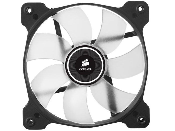 Corsair wentylator AF120 High Airflow Fan 120 mm 3 pin biały LED single pack