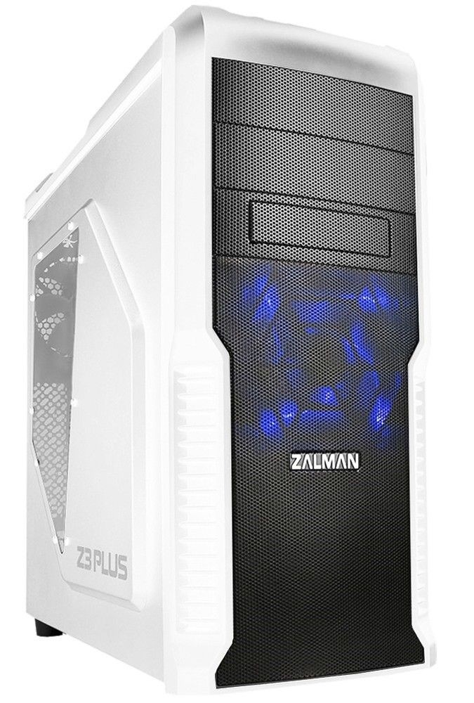Zalman Obudowa Z3 PLUS White Midi Tower (z oknem, bez PSU, USB 3.0)