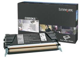 Lexmark toner black (1500str, C520n / C530dn)