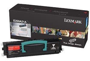 Lexmark toner black (3500str, E250)