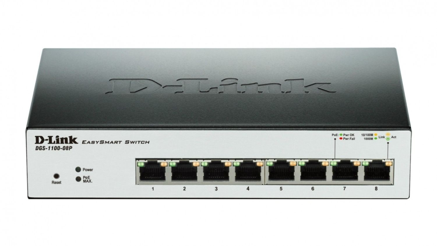 D-Link 8-Port PoE Gigabit EasySmart Switch