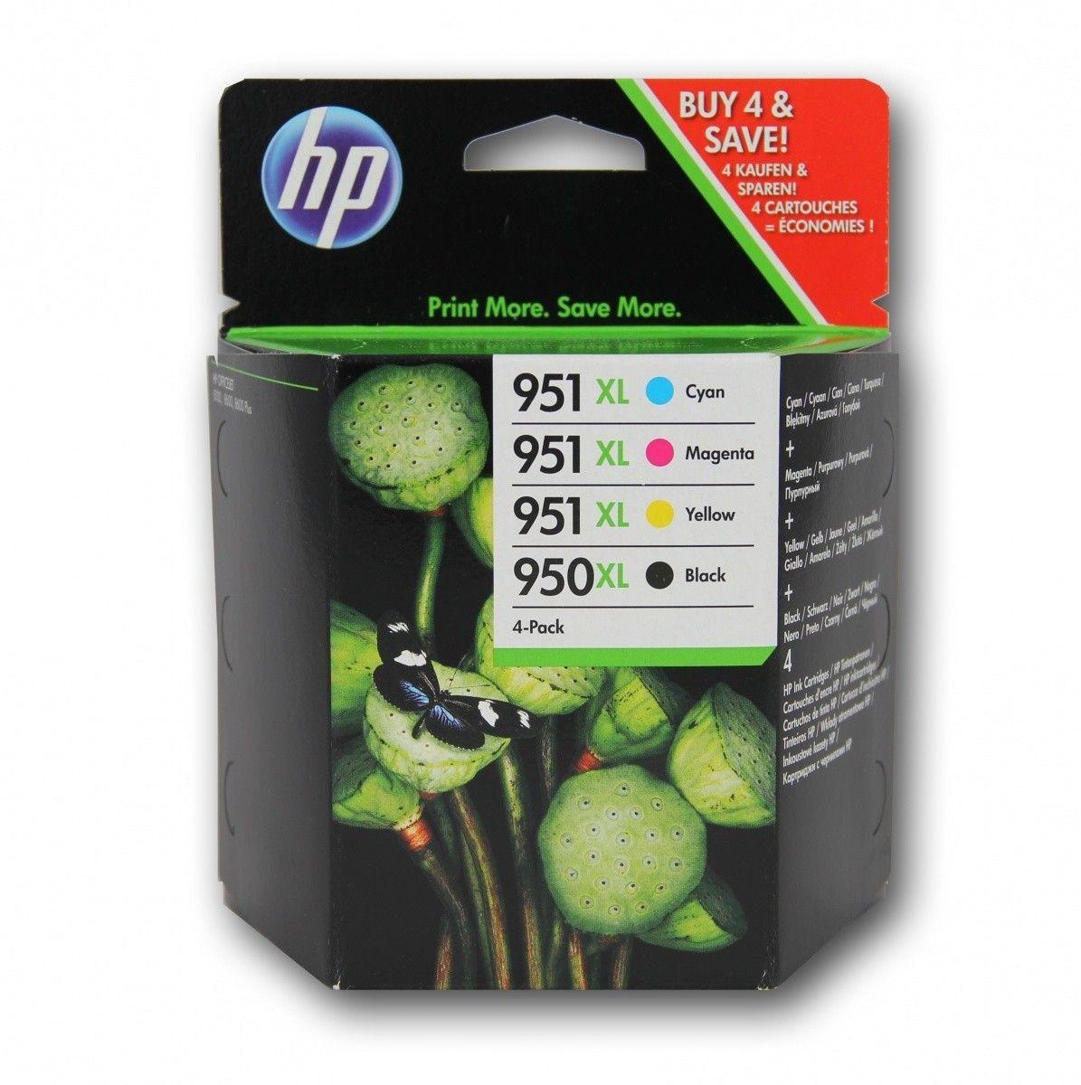 HP Wkład atramentowy HP 950XL/951XL Combo Pack