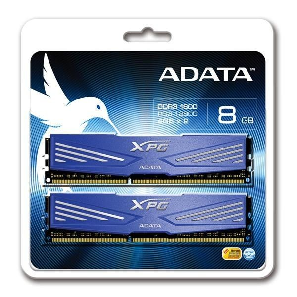 A-Data XPG V1.0 2x4GB 1600MHz DDR3 CL11 Radiator