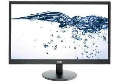 AOC Monitor AOC E2470SWDA 23.6inch, D-Sub/DVI, głośniki