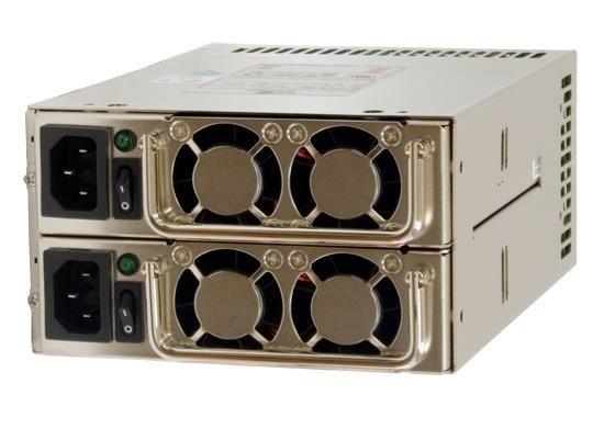 Chieftec zasilacz ATX redundantny MRG-6500P, 500W (2x500W), obud. PS-2, PFC