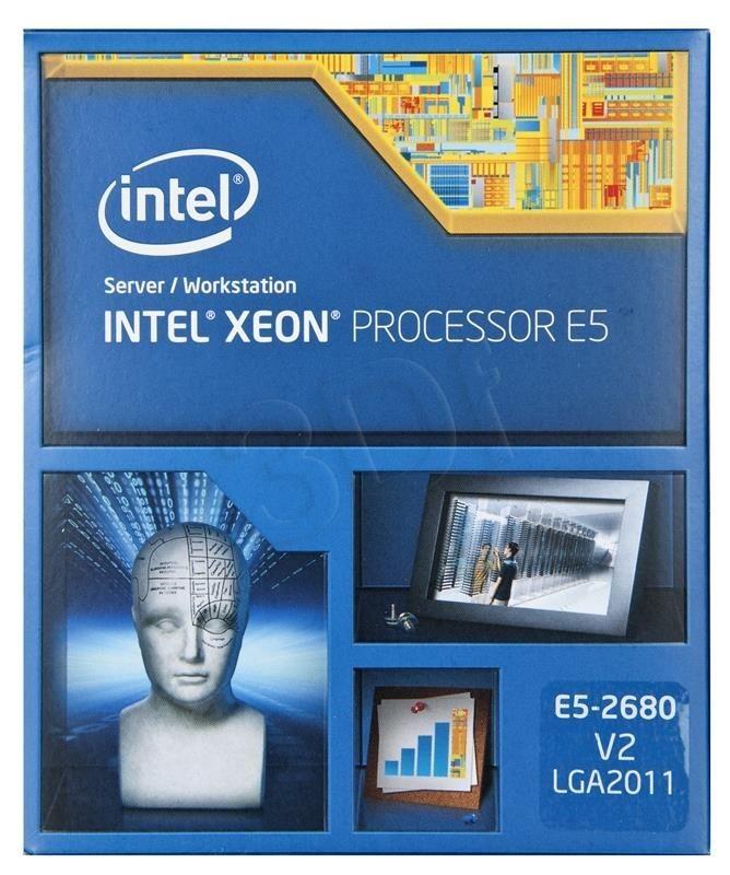 Intel Procesor Xeon E5-2680 v2 2800MHz 2011 Box