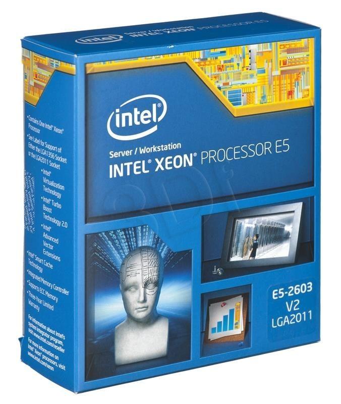 Intel Procesor Xeon E5-2603 v2 1800MHz 2011 Box