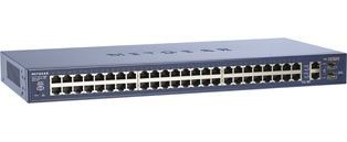 Netgear ProSafe 48x 10/100 Smart Switch with 2x 10/100/1000 Ports (rack)