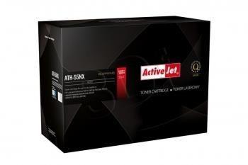 ActiveJet Toner ActiveJet ATH-55XN | Czarny | 12500 pp | HP CE255X (55X), Canon CRG-724
