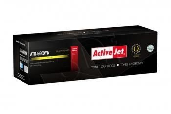 ActiveJet Toner ActiveJet ATO-5600YN | Yellow | 2000 pp | OKI 43381905