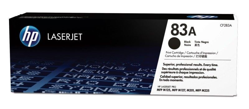 HP Toner HP 83A Black