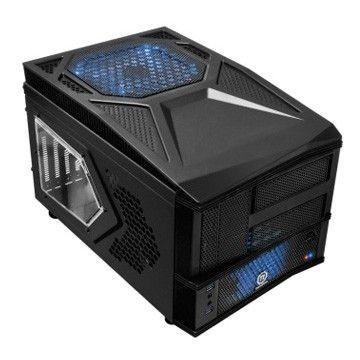 Thermaltake Armor A30i Cube USB 3.0 Window (2x60mm 90mm 200mm, LED), czarna