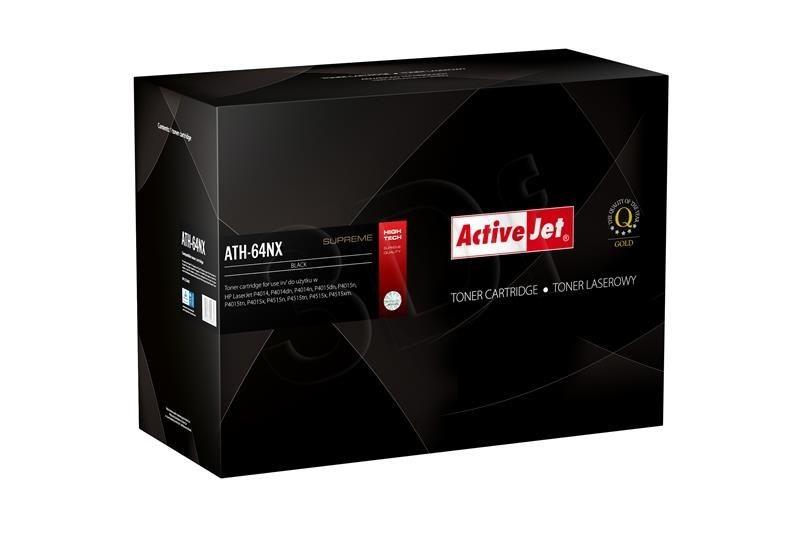 ActiveJet Toner ActiveJet ATH-64NX | Czarny | 24000 pp | HP CC364X (64X)