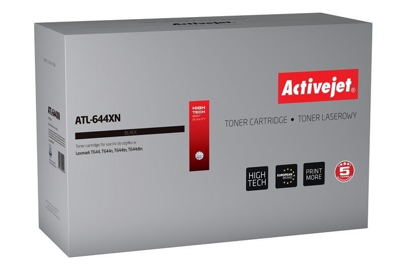 ActiveJet Toner ActiveJet ATL-644XN | Czarny | 32000 pp | Lexmark 64436XE