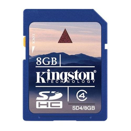 Kingston Karta pamięci SDHC 8GB Class4