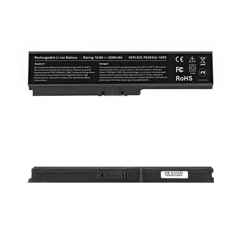 Qoltec Bateria do laptopa Long Life - Toshiba PA3634, 10.8-11.1 V | 5200 mAh