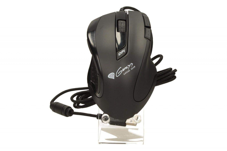 NATEC Mysz laserowa GENESIS GX68 GAMING 3400 DPI + DPI switch, USB, black