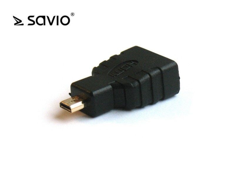 Elmak SAVIO CL-17 Adapter micro HDMI DM - HDMI AF v1.4