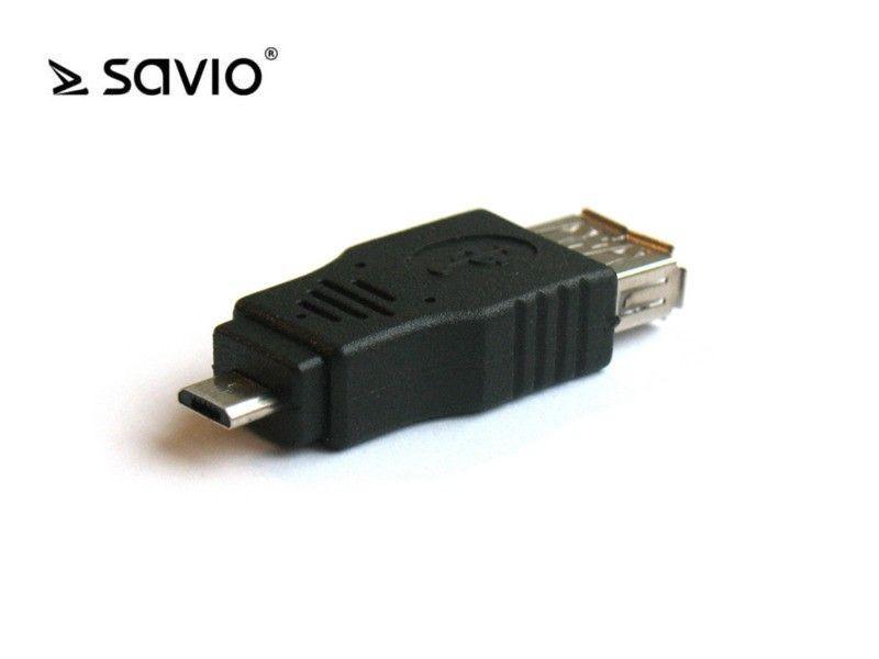 Elmak SAVIO CL-15 Adapter micro USB BM - USB AF