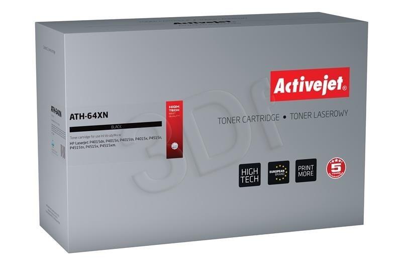 ActiveJet Toner ActiveJet ATH-64XN | Czarny | 24000 pp | HP CC364X (64X)