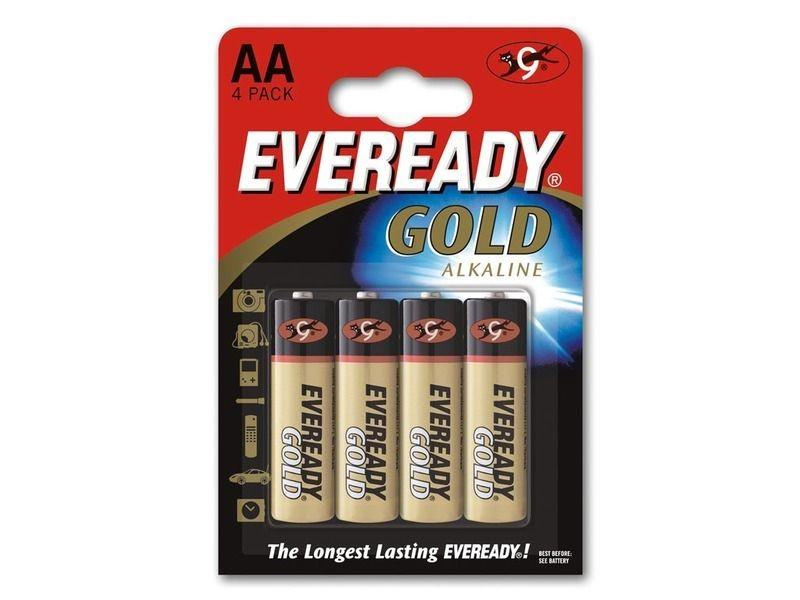 Energizer Bateria EVEREADY GOLD AA LR6 /4szt.