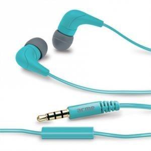 Acme Słuchawki douszne z mikrofonem ACME HE15B Groovy niebieskie
