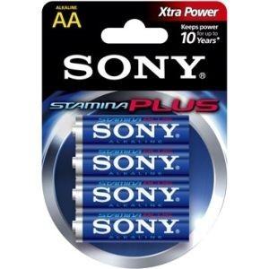 Sony Baterie alkaliczne Stamina Plus LR6 x 4 szt.