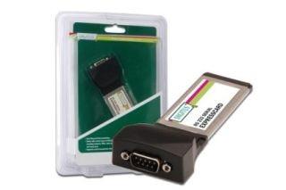 Digitus Karta rozszeń Express Card RS232, 1xDB9, Chip: PL2303X
