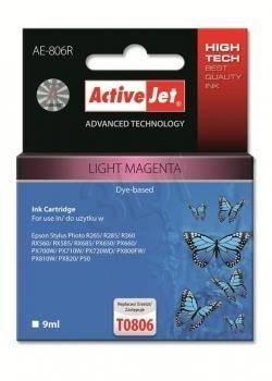 ActiveJet Tusz ActiveJet AE-806R | Light magenta | 9 ml | Epson T0806