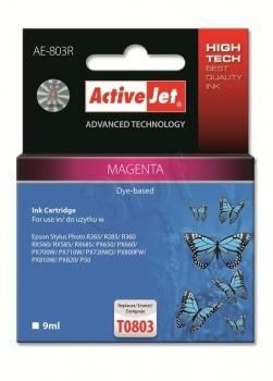 ActiveJet Tusz ActiveJet AE-803R | Magenta | 9 ml | Epson T0803
