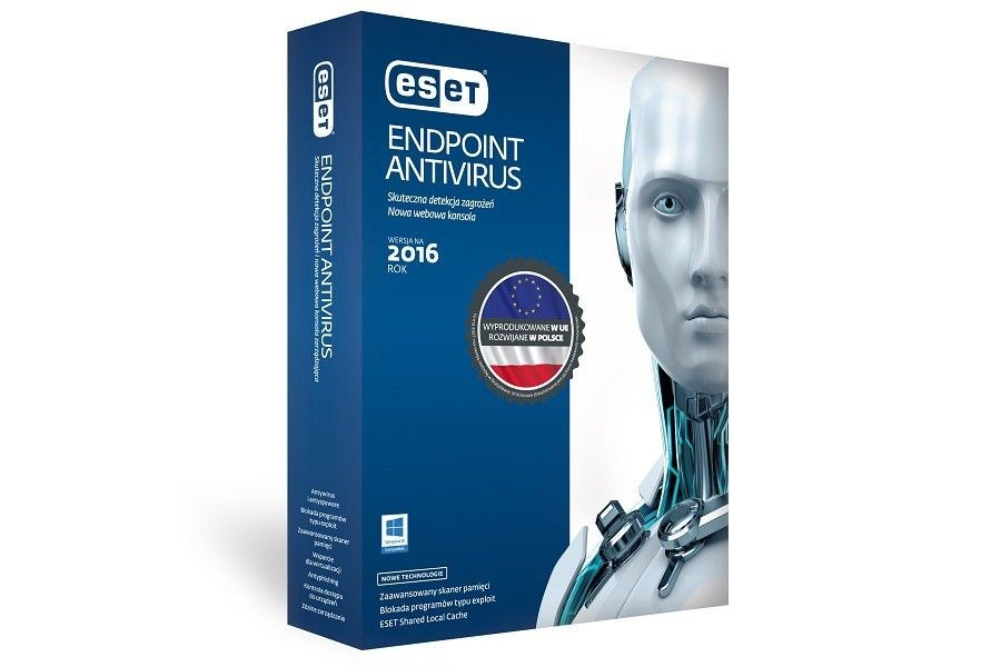 Eset PROGRAM ENDPOINT ANTIVIRUS NOD32 CLIENT 5 USER 1 ROK BOX