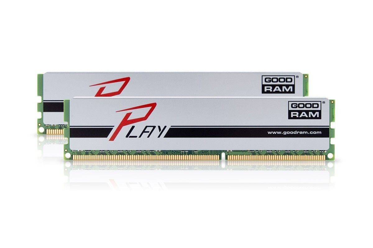 GoodRam DDR3 PLAY 16GB/1866 (2*8GB) SILVER 10-11-10-30